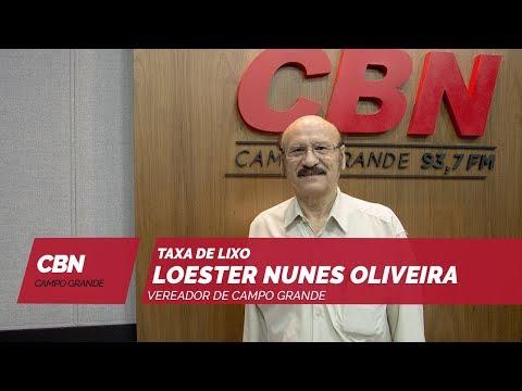 Entrevista CBN Campo Grande: vereador Loester Oliveira