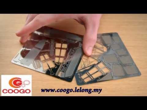 ZOYO Metallic Nano 3D Puzzle