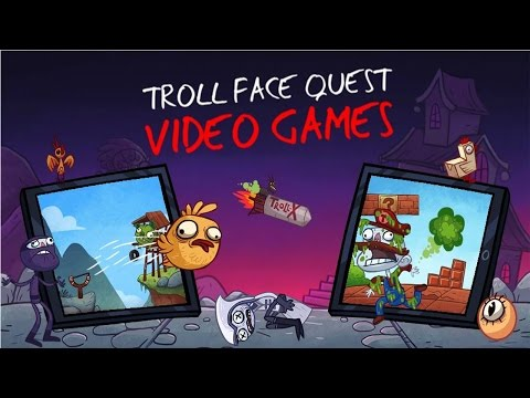 Troll Face Quest: Video Games Level 1-35 Walkthrough