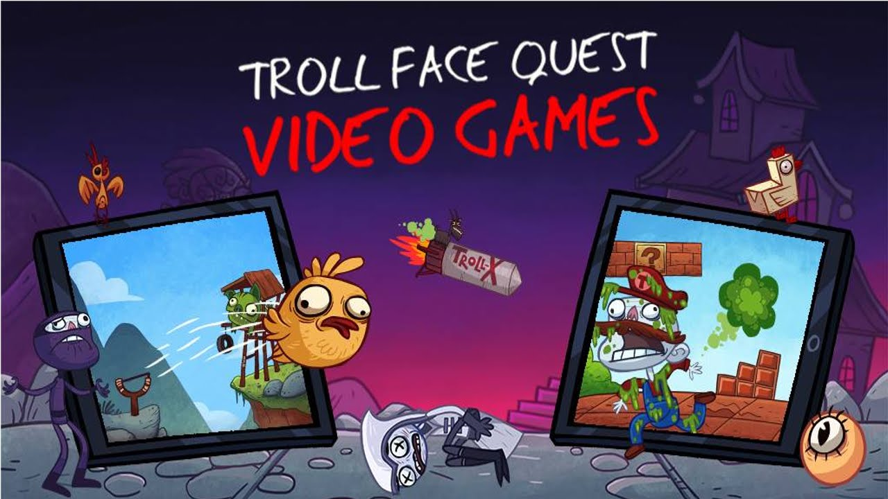 Trollface Quest Video Games - MVlC