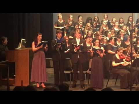 """Lehigh Valley Charter High School for The Arts, """"Recordare"""" - 5/10/2016"""