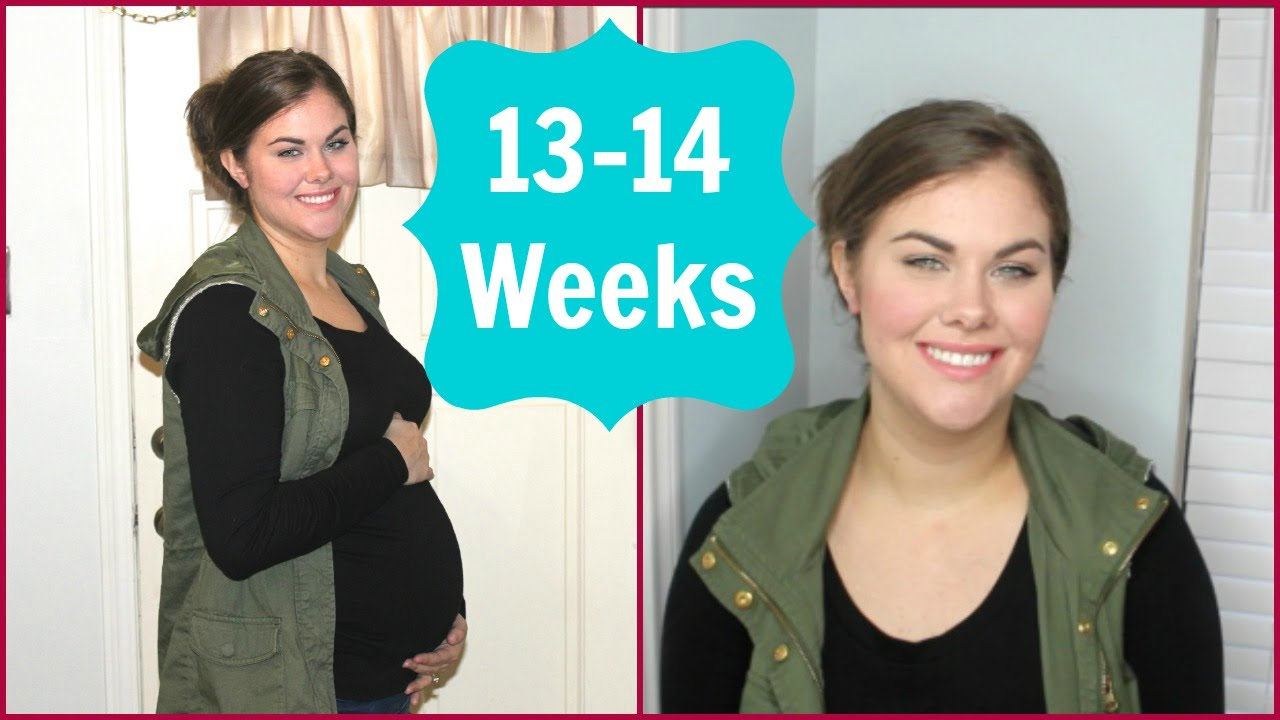 13 - 14 weeks Pregnancy Update - SECOND TRIMESTER!!! | ChristineMichelle -  YouTube