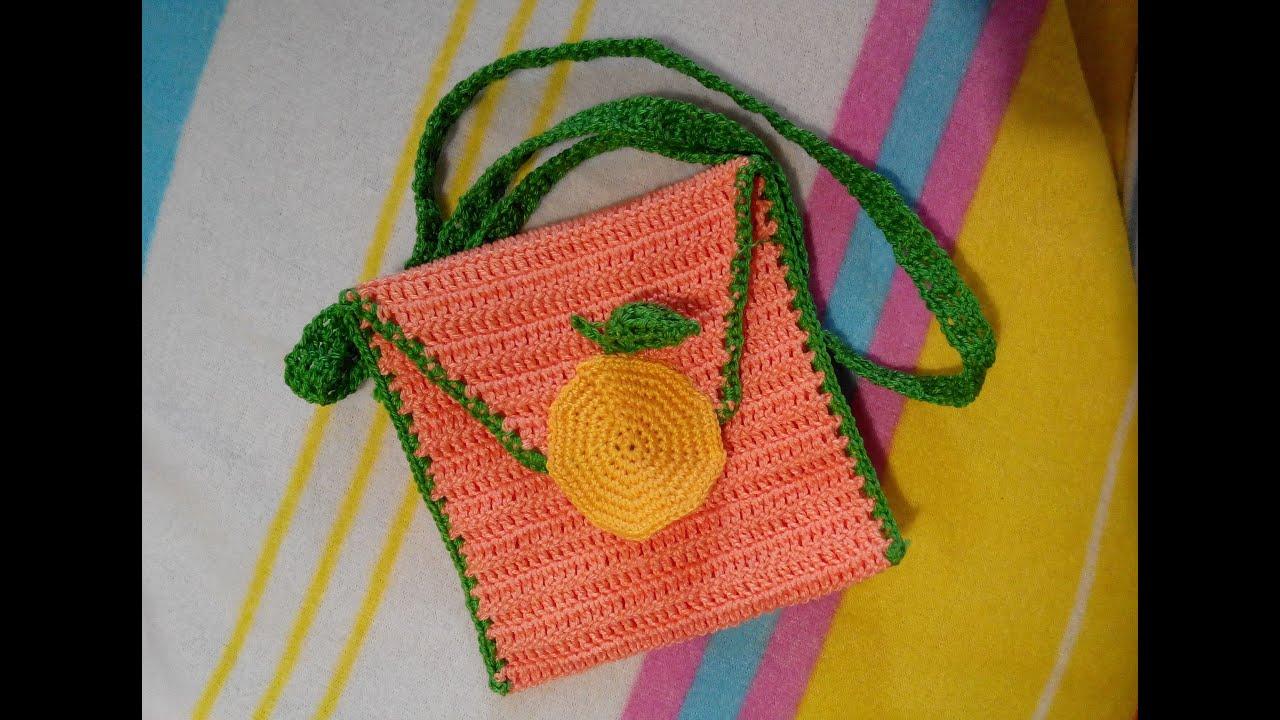летняя сумочка вязанная крючком схема для начинающих