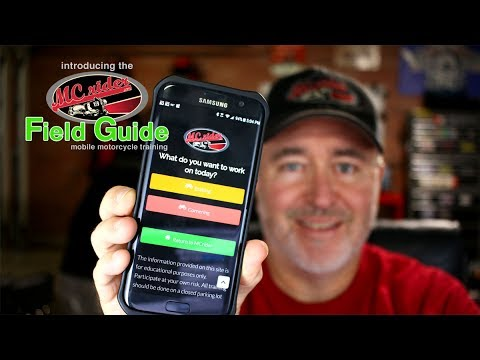 Introducing the MCrider Field Guide - iPhone and Android motorcycle app