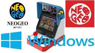 NEO GEO MINI CLASSIC PC EDITION (Release)