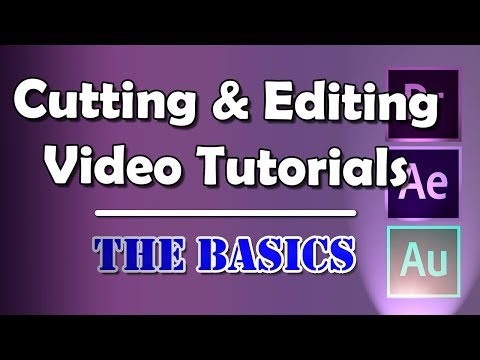 Video Editing for Online Tutorials | Adobe Creative Cloud | The Basics