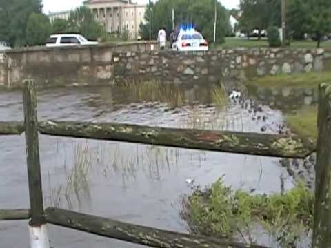 Bristol RI flooding on Sept.5th 2012
