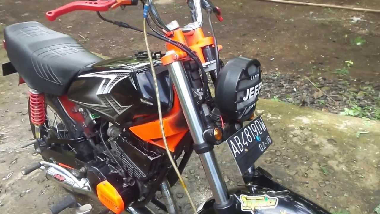 Rx King 135 94 Modif Simple Youtube