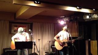 """2012/10/19 下北沢440 """"ZEST FOR LIVING vol.13""""で岩瀬敬吾とサクマツト..."""