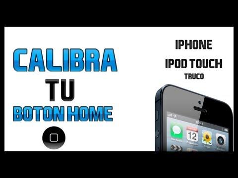 Cómo Calibrar El Botón Home En Tu Iphone // iPod Touch