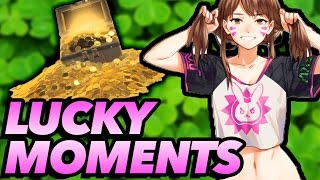 Overwatch Lucky Moments!