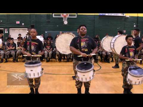 Memphis Central vs Whitehaven High School Showdown - Percussion Round - 2016