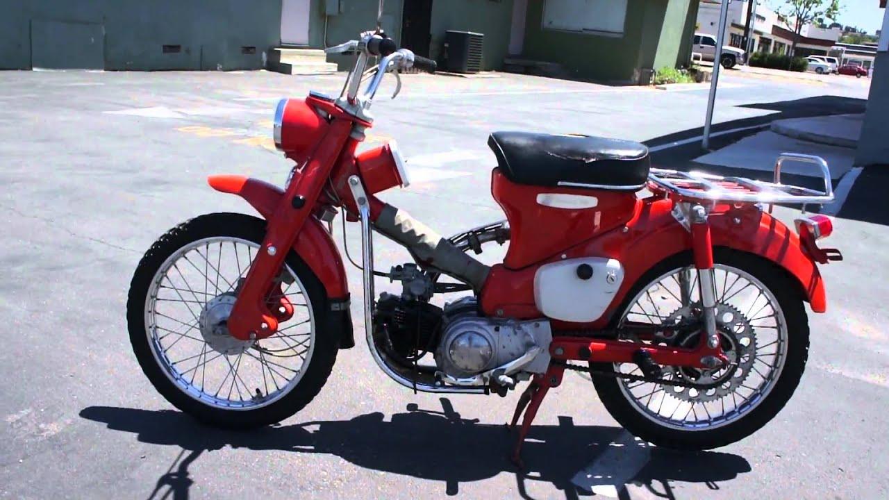 1964 Honda 90 Trail Motorcycle Classic Dirt Bike Moped Youtube
