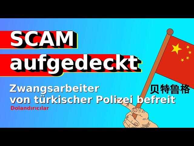 BITCOIN Scam Bande ausgehoben  Türkische Polizei befreit 101 Personen von chinesischer Mafia Bitcoin