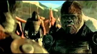Фильм Планета обезъян (лучший трейлер 2001) HD