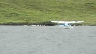 Cessna 206 departing Katmai National Preserve