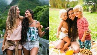 Chasing Waterfalls & Raising Vegan Children with Ellen Fisher in Hawaii! VLOG 7