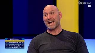 Lawrence Dallaglio and Brian O'Driscoll assess the Heineken Champions Cup quarter-finals