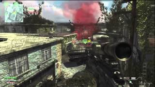 Mw3 Msr Moab gameplay
