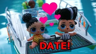 LOL SURPRISE DOLLS Harper And Jack Go On A DATE?!