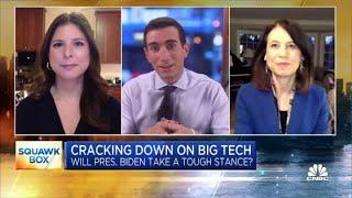 How President Joe Biden may approach Big Tech regulation after the Capitol breach