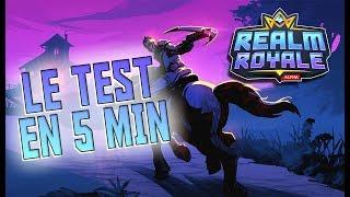 REALM ROYALE : LE TEST EN 5 MIN
