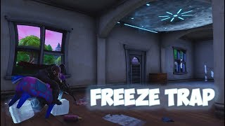 New Item * CHILLER * Freeze Trap Gameplay - Fortnite Battle Royale -