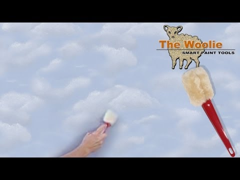Clouds - The Fastest Way To Paint Them Ever! (How To Paint Walls) #FauxPainting