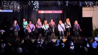 Miss Tyler County Contestants perform during 2015 Pageant