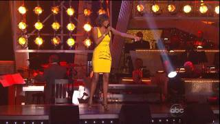 Whitney Houston _ I wanna dance with somebody Live at Dancing with the stars 24 11 2009