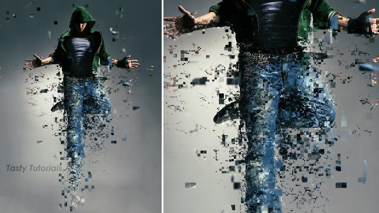 Pixelated Photoshop Effect