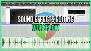 Sound Effects Editing Workflow In REAPER