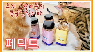 페딕트동결건조트릿 8종 간식 고양이간식 강아지간식