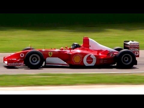 Ferrari F2002 F1 V10 Engine Pure Sound