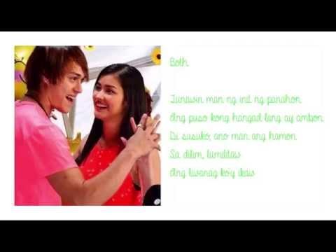 Shine Pilipinas - Enrique Gil & Liza Soberano (Lyrics)