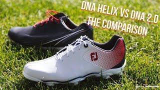 FootJoy DNA Helix Golf Shoes vs DNA 2.0 Golf Shoes