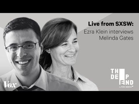Melinda Gates in conversation with Ezra Klein at SXSW