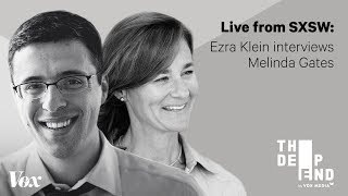 Melinda Gates in conversation with Ezra Klein at SXSW