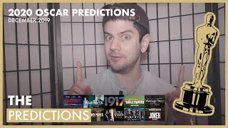 2020 OSCAR PREDICTIONS - DECEMBER 2019