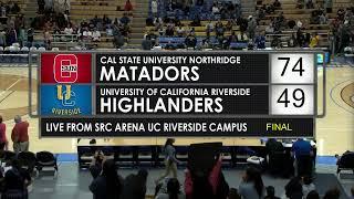 Women's College Basketball - UC Riverside vs CSUN