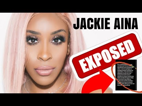 JACKIE AINA APOLOGY TO PETTY PAIGE WAS IT GOOD ENOUGH? MORE DRAMA