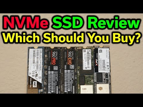 NVMe SSD Review - Which Should You Buy? - 2017 Edition