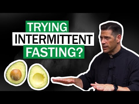 Trying Intermittent Fasting W/ Fr. Mike Schmitz