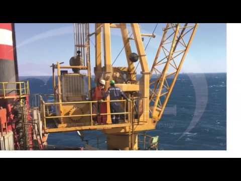 Offshore Crane Operator training course with ADES company | فيديو تدريب اوفشور