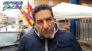 La protesta degli infermieri all'Asl di Avellino - Il segretario Usb Vito Storniello