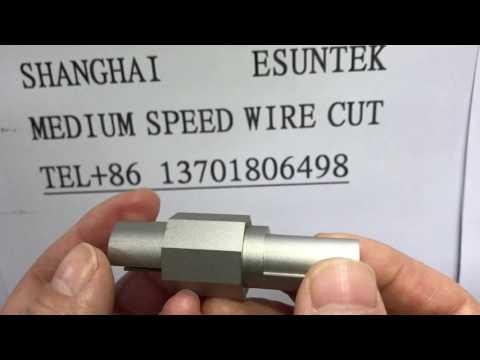 medium speed wire cutting machine the processing of sample video