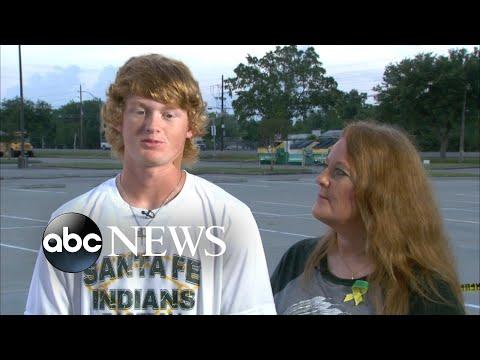 Student shot in the head describes Texas school shooting