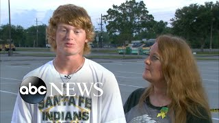 Student shot in the head describes Texas school shooting
