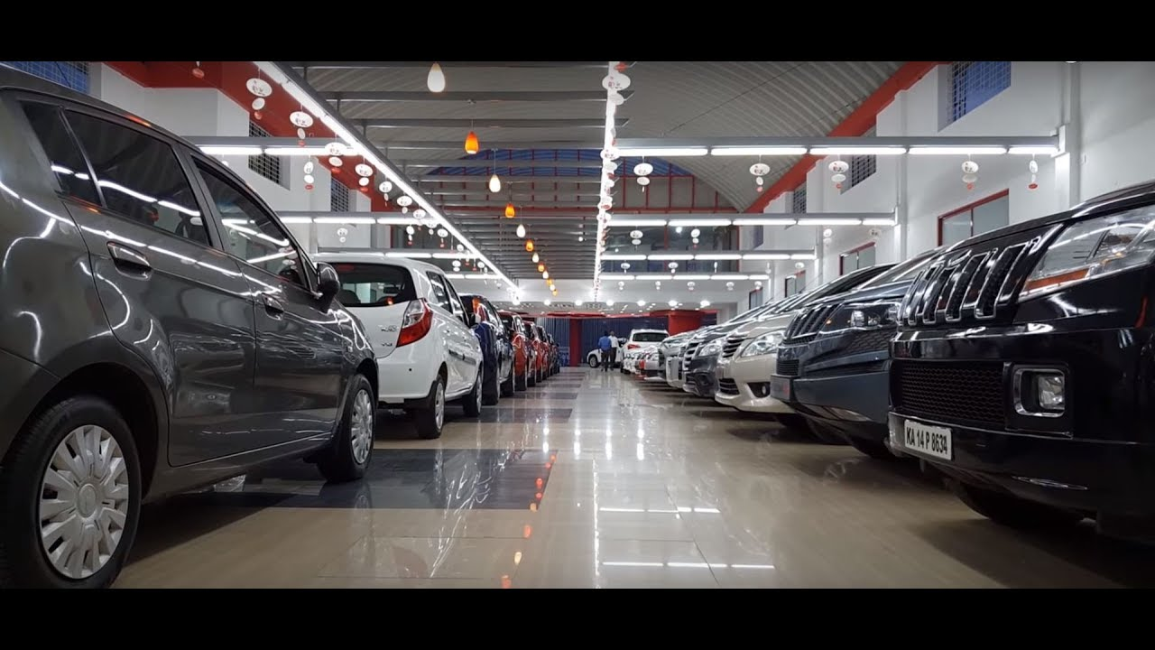 This Used Car Showroom is Massive|Huge Collection|Almost All Cars|Bangalore 4K 60FPS - YouTube