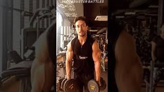 Tiger Shroff Huge Biceps 😱😳 Tiger Shroff New Workout Video Gym #shorts